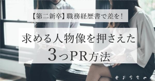 企業軸_職務経歴書